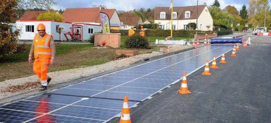 route solaire