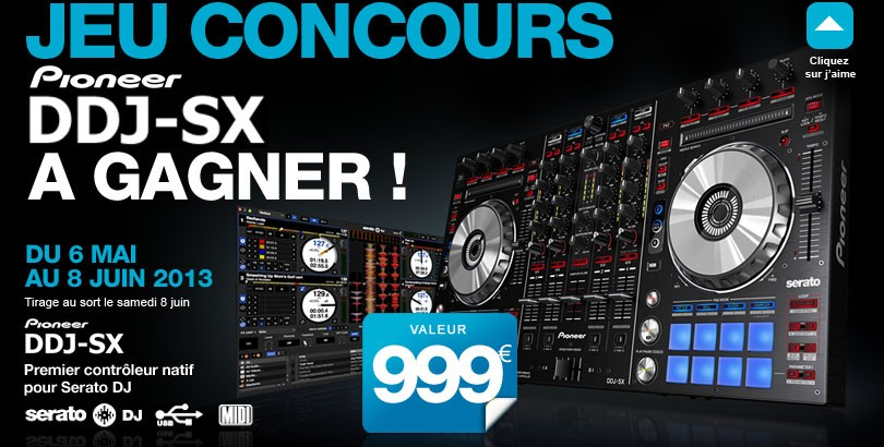 Concours pioneer ddj sx